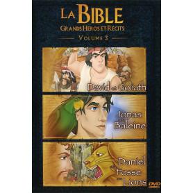 DVD La Bible Grands héros et récits - Volume 3