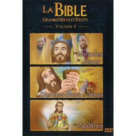 DVD La Bible Grands héros et récits - Volume 5