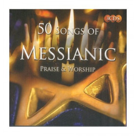 CD 50 songs of Messianic praise & worship - 3 CD