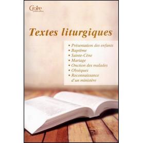 Textes liturgiques