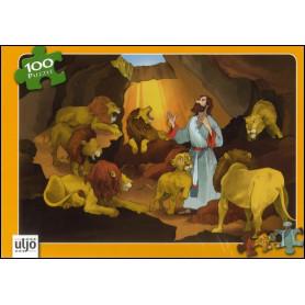Puzzle Daniel dans la fosse aux lion