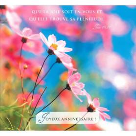 Carte double Anniversaire - Jean 15.11