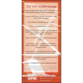 Carte de proclamation Vie Victorieuse