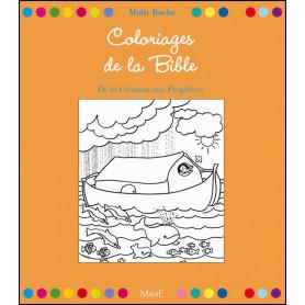 Coloriages de la Bible – De la création aux prophètes - Maïté Roche