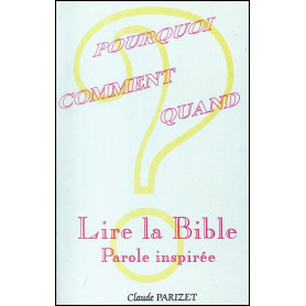 Lire la Bible – Claude Parizet