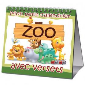 Calendrier perpétuel Mon petit calendrier Zoo avec versets – Agnès et Salem de Bézenac