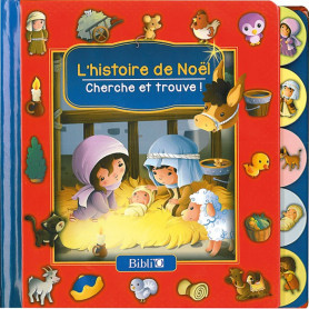 L'histoire de Noël - Cherche et trouve ! – Editions Bibli'o