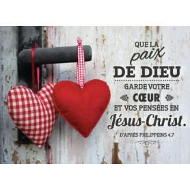 Magnet Frigo Que la paix de Dieu - d'après Philippiens 4.7