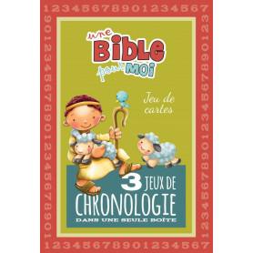 Jeu de cartes Une Bible pour moi – 3 jeux de chronologie– Editions ICharacter