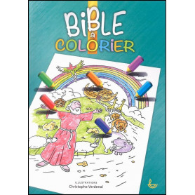 Bible à colorier – Editions LLB