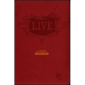 Bible Italien Live souple vivella rouge - Nuova Riveduta 2006