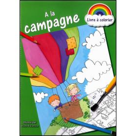 A la campagne – Livre à colorier