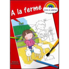 A la ferme – Livre à colorier