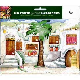En route pour Bethléem – Calendrier de l'Avent – Editions LLB