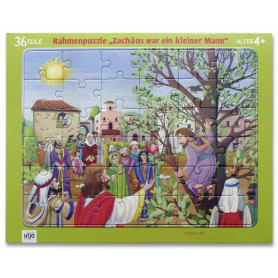 Puzzle Zachée en carton 36 pièces - 71188