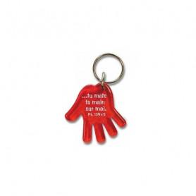 Porte-clés Main - Tu mets ta main sur moi - Ps 139.5 - 729631