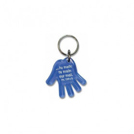 Porte-clés Main - Tu mets ta main sur moi - Ps 139.5 - 729632