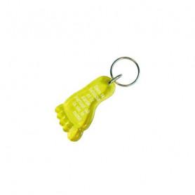 Porte-clés Pied - Dieu te bénisse Jaune - 729659