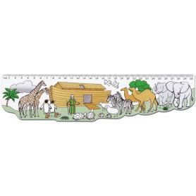 Règle Arche de Noé 30 cm - 71544 - Uljo