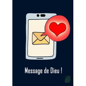 Carte simple SMS - Message de Dieu !