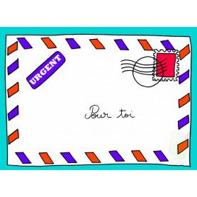 Carte simple La lettre - Pour toi