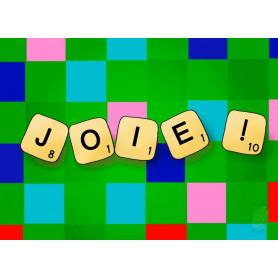 Carte simple Joie