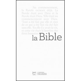 Bible Segond 21 Slim reliée blanche