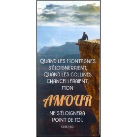 Marque-page Magnet Quand les montagnes s'éloigneraient