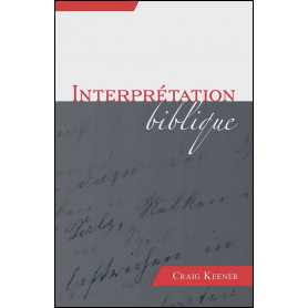 Interprétation biblique – Craig Keener