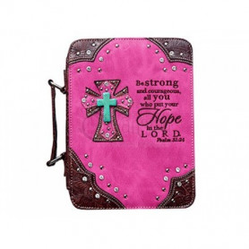 Housse de Bible Large – Hope - Hot pink