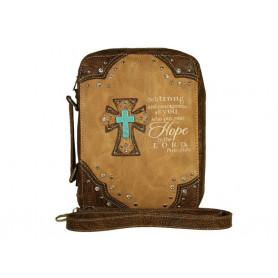 Housse de Bible Large – Hope - Hot tan