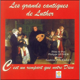 CD Les grands cantiques de Luther