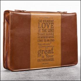 Housse de Bible Medium Steadfast Love 2 tons