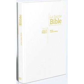 Bible NEG Gros Caractère souple blanche - G11842