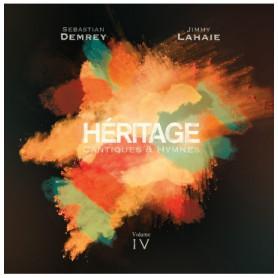 CD Héritage 4 - Cantiques & Hymnes