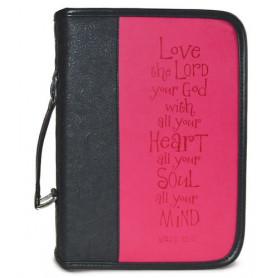 Housse de Bible Large – Love - Pink