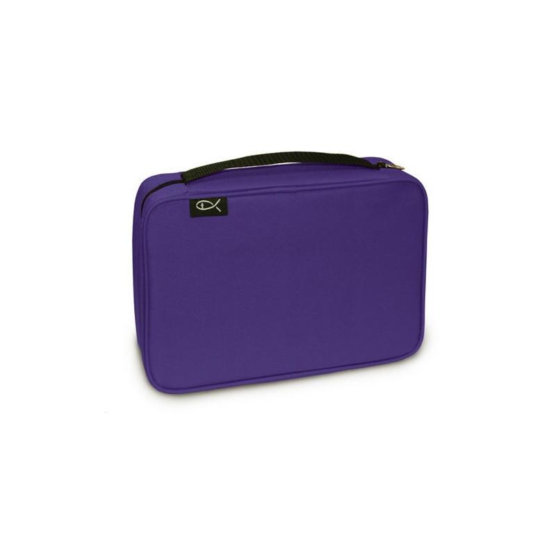 Housse de Bible Ichthus Purple - Extra Large