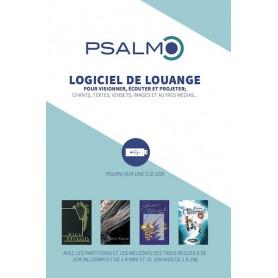 CDR Logiciel de louange Psalmo sur clé USB recueils 1 2 3 + Kids