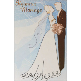 Carte double Mariage 1 Thessaloniciens 3.12