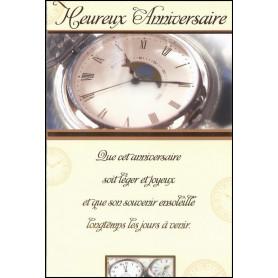 Carte double Anniversaire -Psaume 145.9