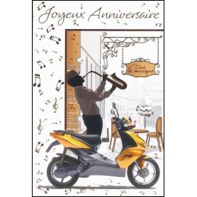 Carte double Anniversaire - Tite 3.6