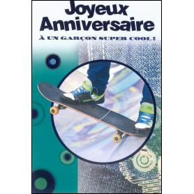 Carte double Anniversaire - Deutéronome 28.8