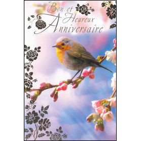 Carte double Anniversaire - Colossiens 2.10