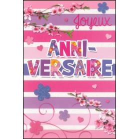 Carte double Anniversaire - Pierre 5.10