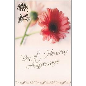 Carte double Anniversaire - Matthieu 11.28