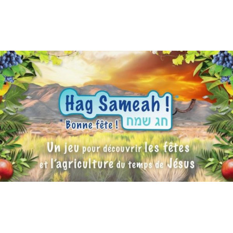 Jeu Hag Sameah - Bonne fête !