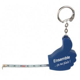 Porte-clés main avec mètre ruban – 72885 - Uljo