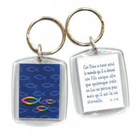 Porte-clés Jean 3.16- 72975 - Uljo