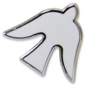 Pin's Colombe blanche - 71595 - Uljo