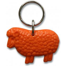 Porte-clés mouton Psaume 23 orange – 72233 - Uljo